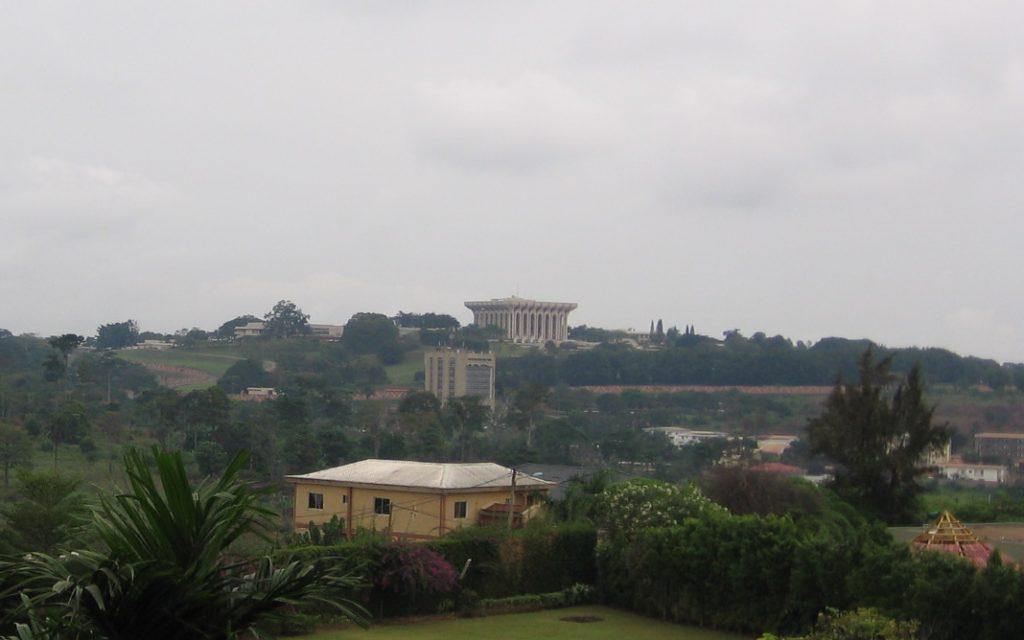 Le palais présidentiel au Cameroun
