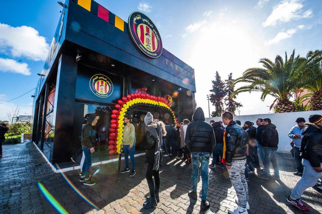 La boutique de l'Espérance sportive de Tunis, le Taraji Store
