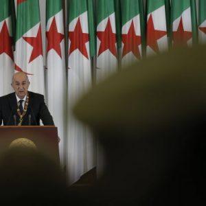 Abdelmadjid Tebboune, le président algérien, le 19 décembre 2019.