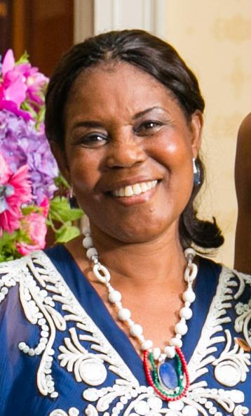 La première dame Constancia Mangue Nsue Okomo