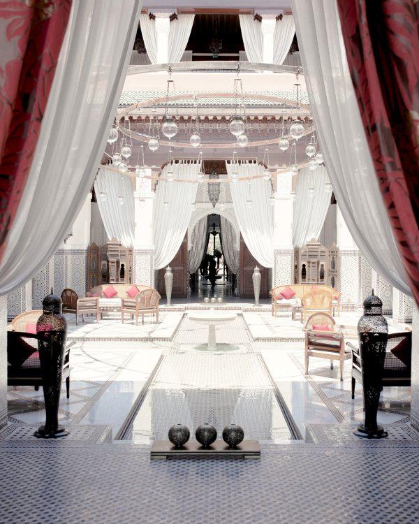 Le Royal Mansour, où l'actrice oscarisée Meryl Streep a séjourné pendant les fêtes de fin d'année.