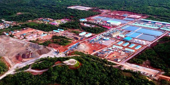 Les installations de Deziwas, dans la province du Lualaba
