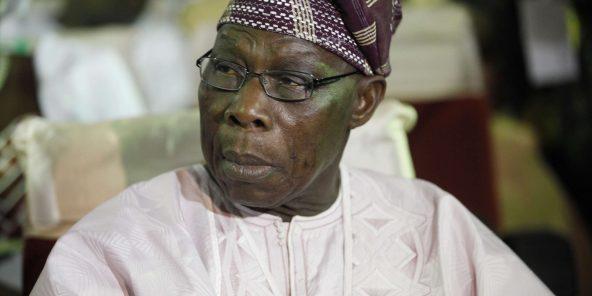 L'ancien président nigérian Olusegun Obasanjo, en 2013.
