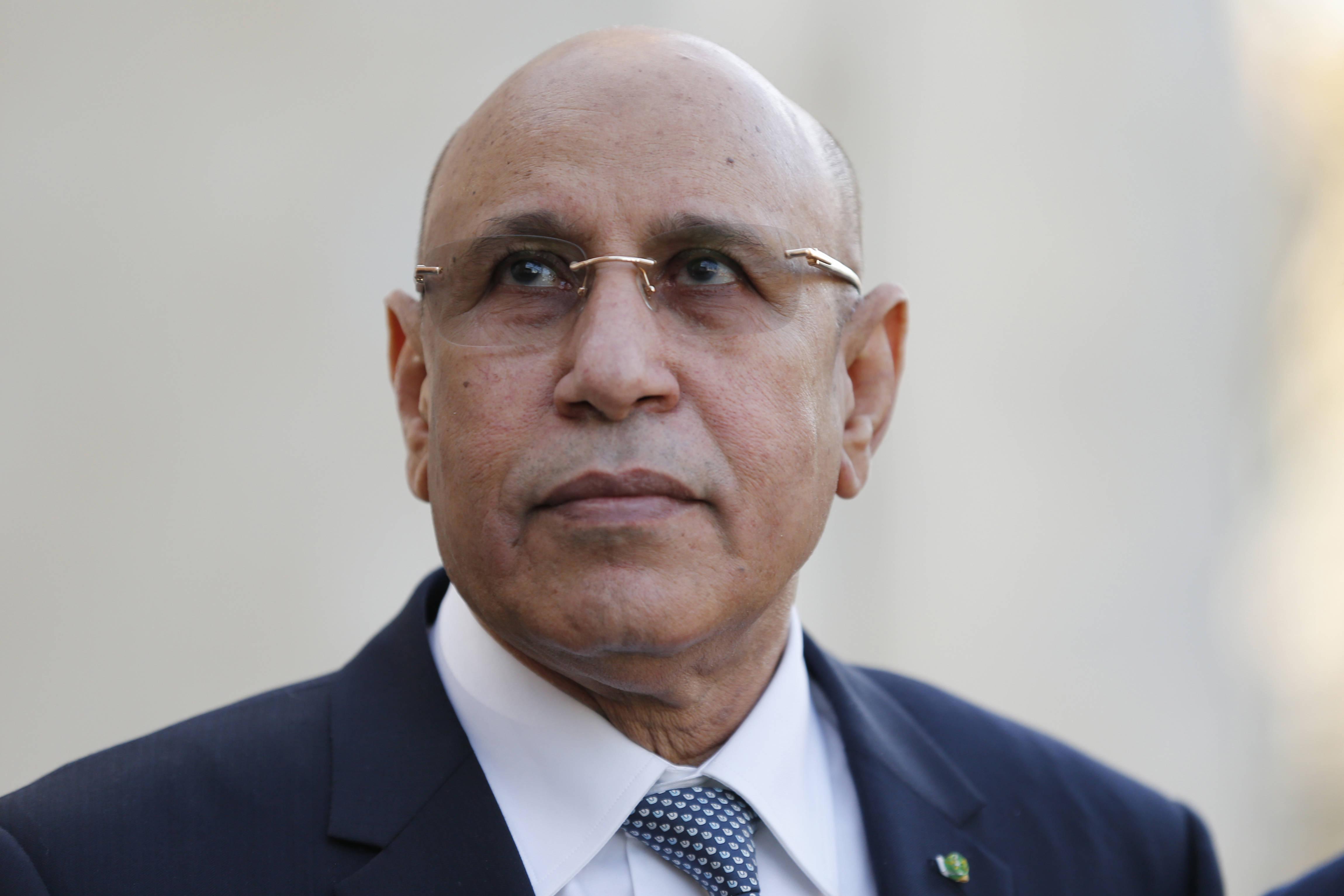 Le président mauritanien Mohamed Ould El Ghazouani