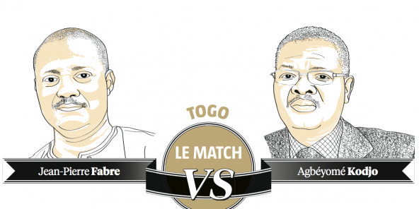 Jean-Pierre Fabre vs Agbéyomé Kodjo