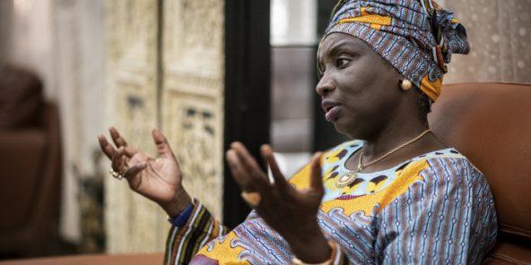 Aminata Touré à Dakar, en janvier 2019.