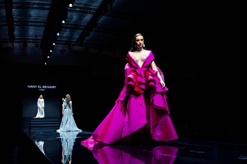 L'Égyptien Hany El Behairy pour l'Oriental Fashion Show 2020.