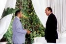 Mohammed VI et Jacques Chirac, à Rabat, le 29octobre 1999.
