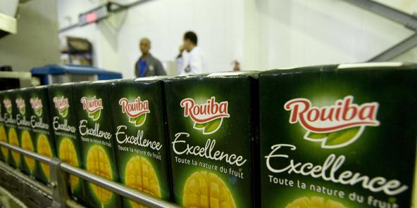 Usine de boissons fruitées NCA Rouiba à Alger. Le 5 décembre 2013.