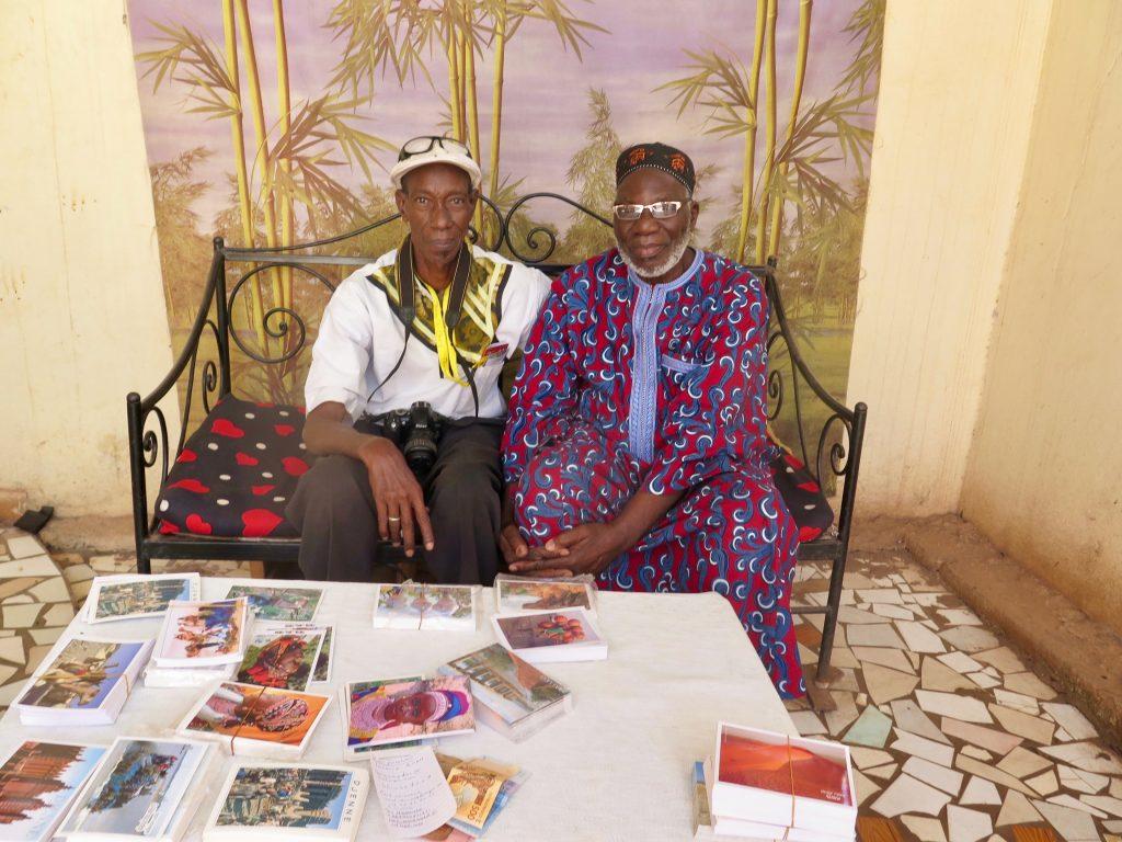 Amadou Baba et Django Cissé, chez ce dernier à Bamako