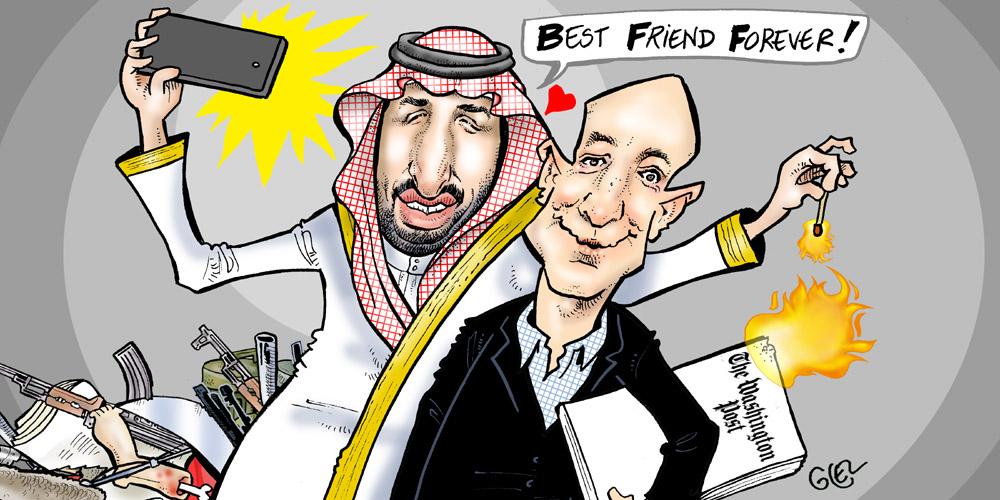Y a-t-il un lien entre le piratage du téléphone de Jeff Bezos par l'Arabie saoudite, son divorce et l'assassinat du journaliste Jamal Khashoggi, qui travaillait pour le Washington Post dont Bezos est le premier actionnaire ?
