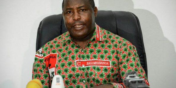 Le général Evariste Ndayishimiye, le 22 mai 2018 à Bujumbura.