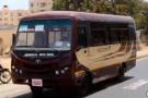 Un bus interurbain de Senegal Dem Dikk
