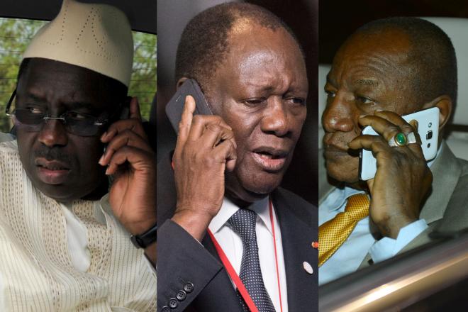 Espionnage : les téléphones ultra-sécurisés des présidents africains