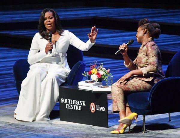 «Michelle Obama a une incroyable confiance en elle.Il serait bon que les premières dames africaines soient aussi fortes et instruites qu'elle.» Ici à Londres le 3décembre 2018.