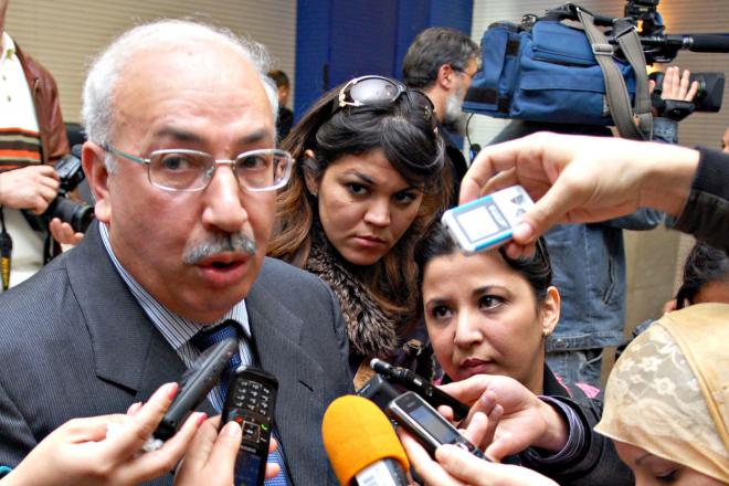 Déclaration à la presse de Brahim Bouzeboudjene, président de la Commission nationale de prévention et de lutte contre la corruption