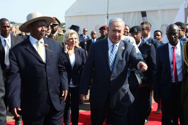 Ouganda : le Premier ministre israélien Benyamin Netanyahou en visite à Entebbe