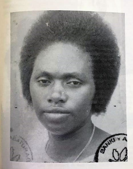 Photo d'archive d'Angéline Mukandutiye, génocidaire rwandaise retrouvée en RDC en décembre 2019.