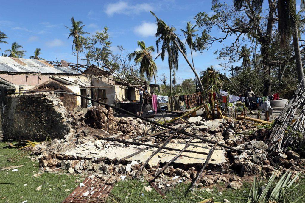 Au Mozambique, les ravages du cyclone Kenneth