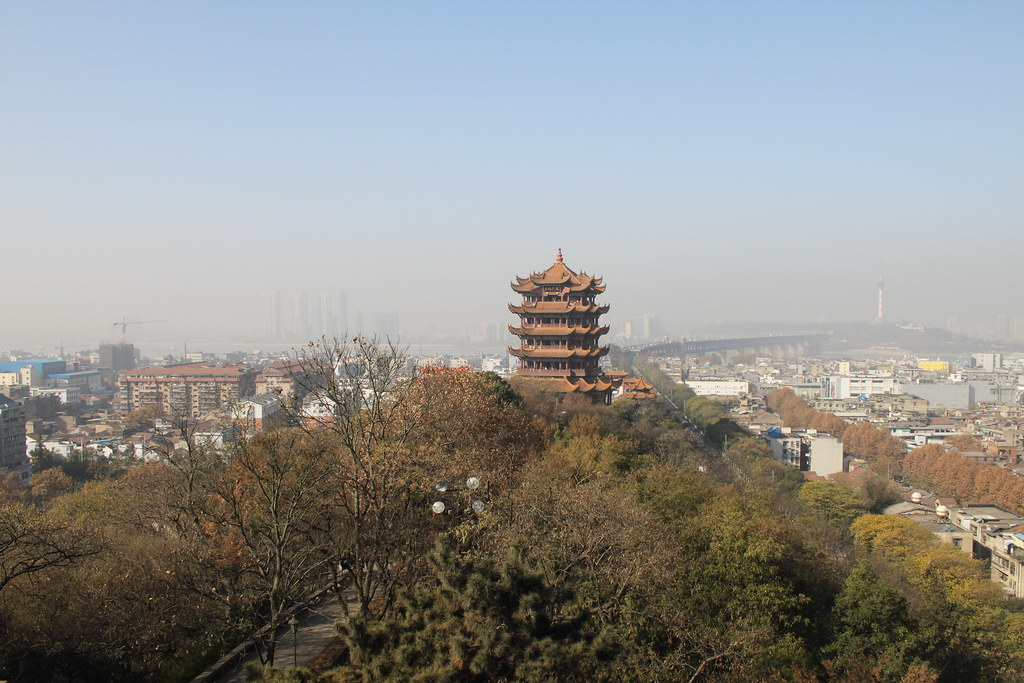Tour de la grue jaune Wuhan
