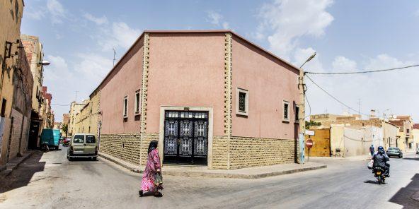 La maison où Boutefilka est né et a grandi, à Oujda.