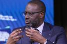 Tidjane Thiam, patron de Credit Suisse, à New York, le 25 septembre 2019