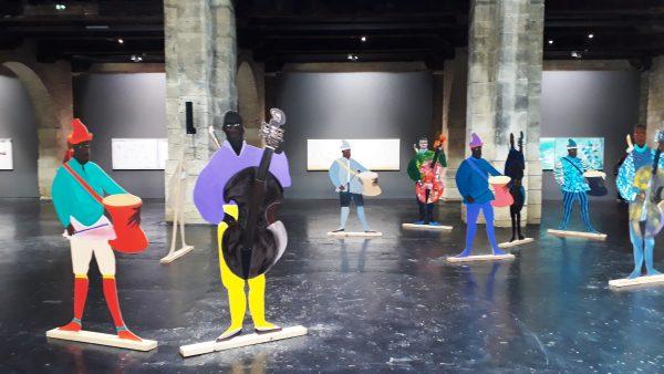 Exposition Naming the money, au CAPC-Musée d'art contemporain de Bordeaux, 2020.