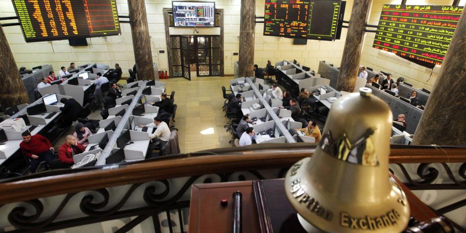 La bourse du Caire, en mars 2013 (Illustration).
