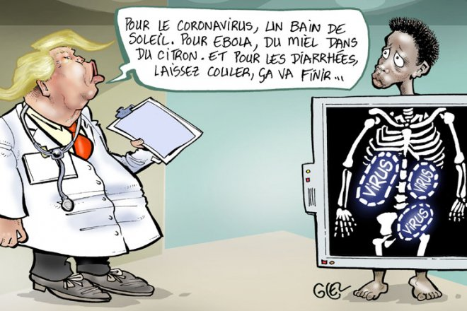 "[Chronique] Make coronavirus great again : les ""bons conseils"" de Dr. Trump"