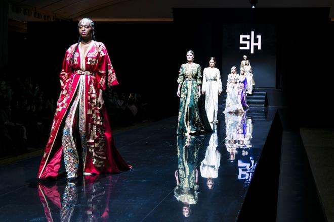 Avec l'Oriental Fashion Show, Hind Joudar fait rayonner le caftan à travers le monde