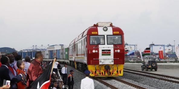 L'obligation de transport ferroviaire des containers entre Mombasa et Nairobi a bouleversé le secteur de la logistique au Kenya.