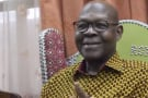 Gaston Ouassénan Koné est le coordinateur des vice-présidents du parti (ici en novembre 2018).