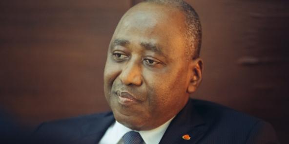 Amadou Gon Coulibaly, Premier ministre ivoirien, le 25 septembre 2017.