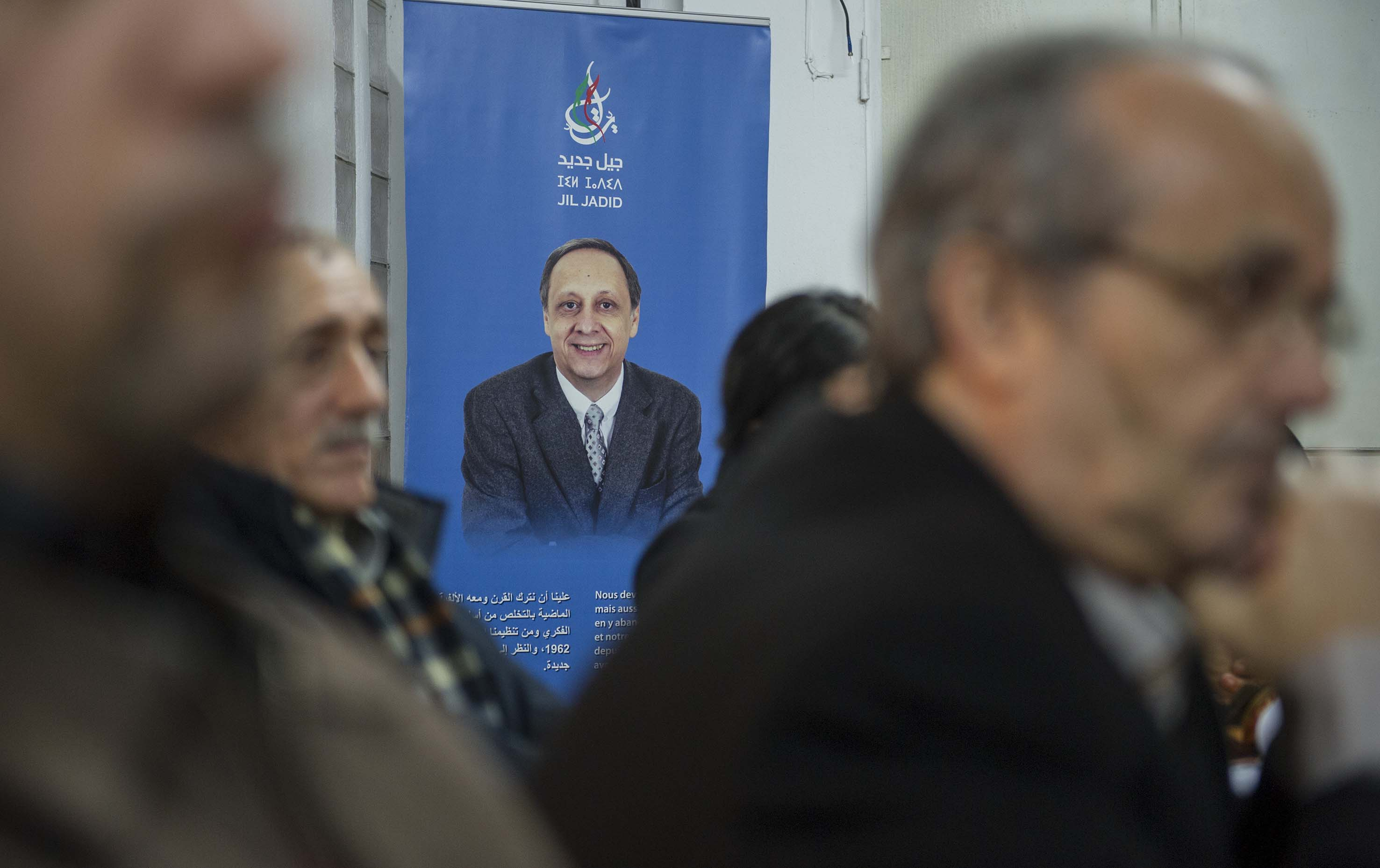 Soufiane Djilali, président de Jil Jadid.