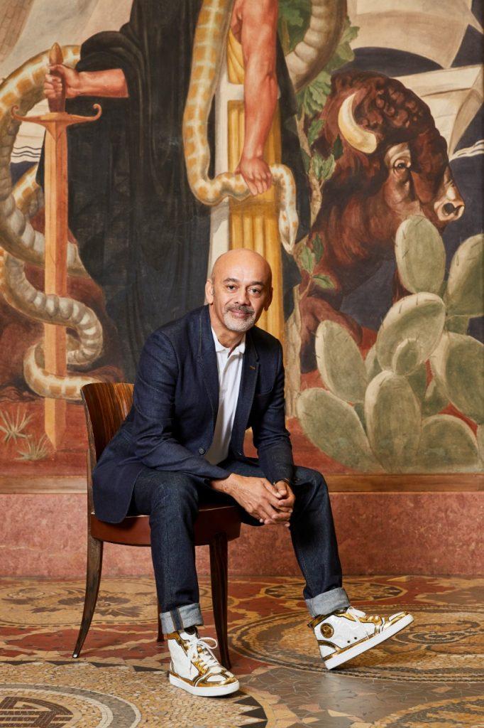 Christian Louboutin au Palais de la Porte Dorée.