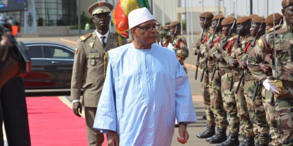 Au Mali, Ibrahim Boubacar Keïta prêt au dialogue avec les ...