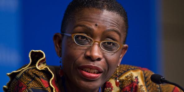 Antoinette Sayeh, en 2009