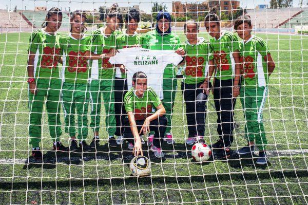Le club de football féminin algérien Afak Relizane, fondé en 1993.