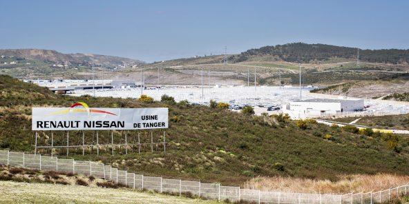 Le secteur automobile marocain compte plus de 150000postes (ici l'usine Renault-Nissan de Tanger Med, entrée en exploitation en 2012).