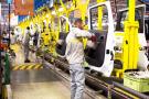 Le secteur automobile marocain compte plus de 150 000postes (ici dans l'unité Renault-Nissan de Tanger Med, entrée en exploitation en 2012).