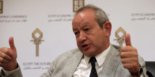 Nagib Sawiris, en mars 2015.
