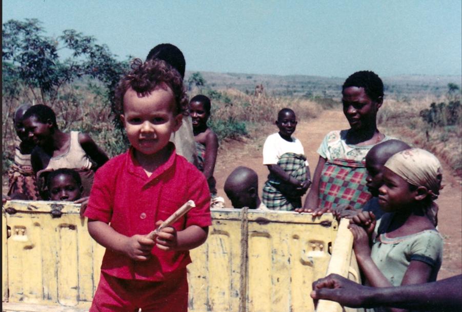 Dans la plaine du Moso, au Burundi, en 1983.