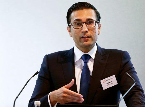Iqbal Khan, ex-patron de la division internationale de gestion de fortune de Credit suisse.