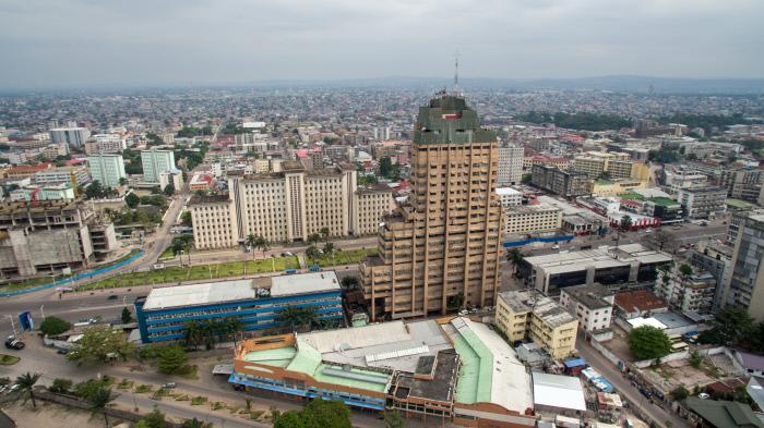 Kinshasa, vue aérienne (photo d'illustration)