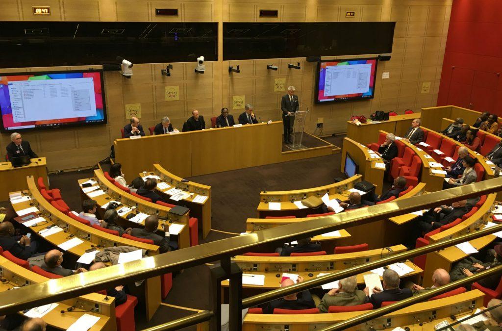 Lors du colloque « L'Afrique des Grands Lacs, 60 ans de tragique instabilité », organisé le 9 mars 2020 au Sénat français.