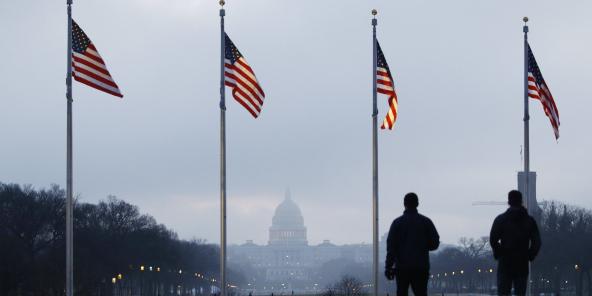 Une vue du Capitole, à Washington en janvier 2020 (illustration).