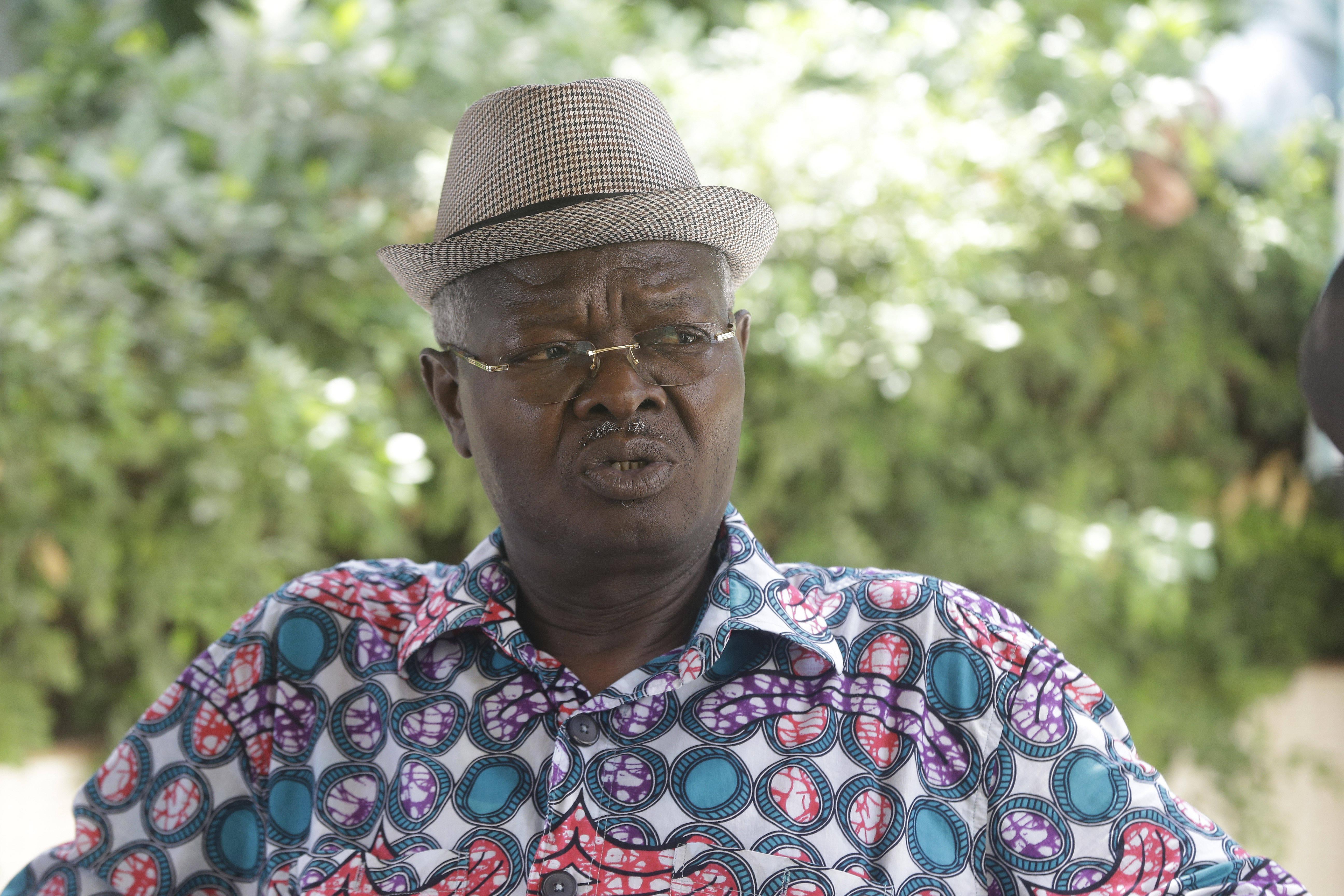 Agbéyomé Kodjo, le 24 février à Lomé.