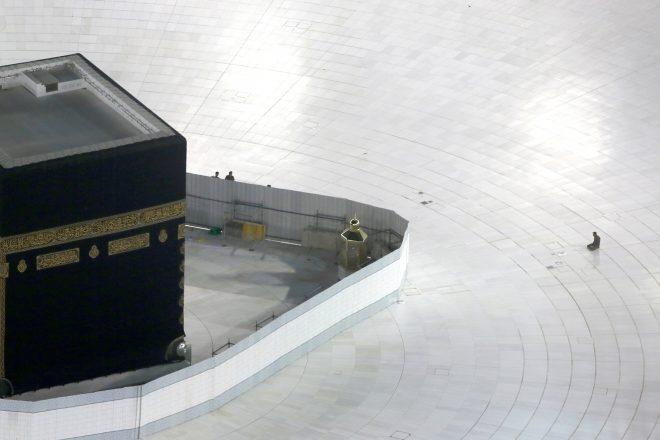 La Kaaba, le 7 mars 2020.