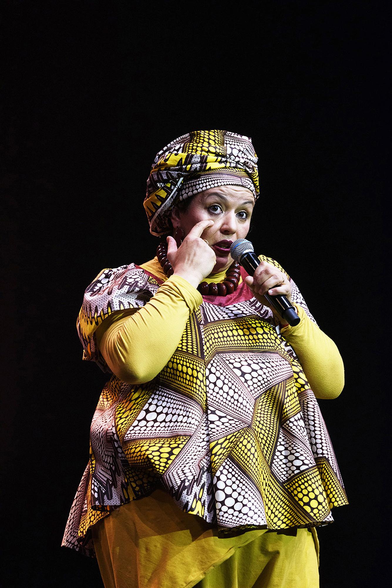 Samia Orosemane est originaire de Tunisie.