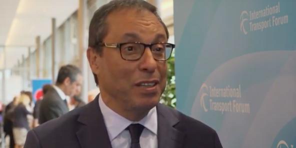 Le ministre marocain de l'Équipement et du transport, Abdelkader Amara, le 24 mai 2019.
